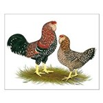 Russian Orloff Chickens Small Poster