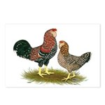 Russian Orloff Chickens Postcards (Package of 8)