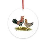 Russian Orloff Chickens Ornament (Round)