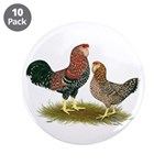 "Russian Orloff Chickens 3.5"" Button (10 pack)"