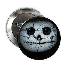 "Unique Halloween pumpkin 2.25"" Button"