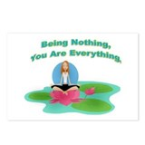 Lotus - Being Nothing Postcards (Package of 8)