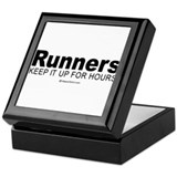 Runners do it for a long time - Keepsake Box
