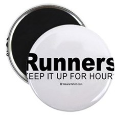Runners do it for a long time - Magnet