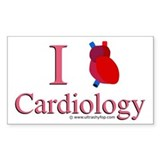 Cardiology Rectangle Decal