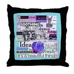 The Artist's Throw Pillow