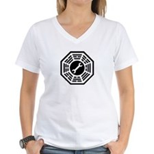 DHARMA Motorpool Women's V-Neck T-Shirt
