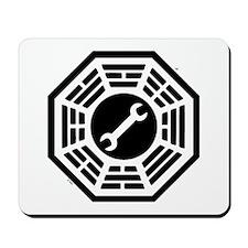 DHARMA Motorpool Mousepad