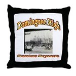 Dominguez High Senior Square Throw Pillow
