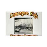 Dominguez High Senior Square Rectangle Magnet