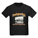 Dominguez High Senior Square Kids Dark T-Shirt