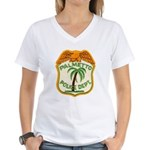 Palmetto Florida Police Women's V-Neck T-Shirt