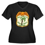 Palmetto Florida Police Women's Plus Size V-Neck D