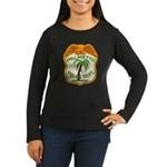 Palmetto Florida Police Women's Long Sleeve Dark T
