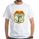 Palmetto Florida Police White T-Shirt