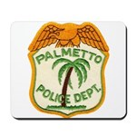Palmetto Florida Police Mousepad