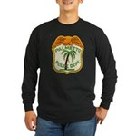 Palmetto Florida Police Long Sleeve Dark T-Shirt