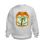 Palmetto Florida Police Kids Sweatshirt