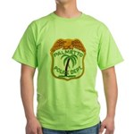 Palmetto Florida Police Green T-Shirt