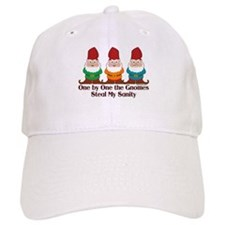 One by one the Gnomes steal my sanity Baseball Cap