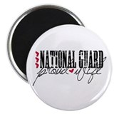 Ntl Guard - Proud Wife Magnet
