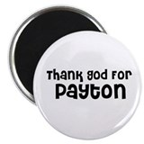 Thank God For Payton Magnet