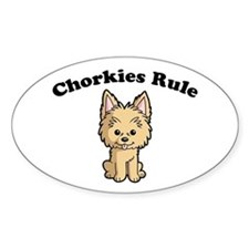 Chorkies Rule Decal