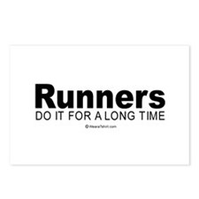 Runners keep it up for hours -  Postcards (Package