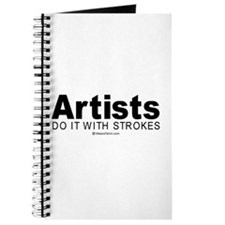 Artists do it with strokes - Journal