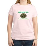 Menifee California Police Women's Light T-Shirt