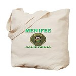 Menifee California Police Tote Bag