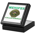 Menifee California Police Keepsake Box