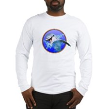 Dolphin Smiling Long Sleeve T-Shirt