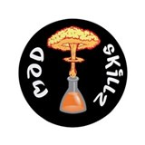 "Mad Skillz 3.5"" Button (100 pack)"