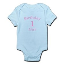 Girl 1st Birthday Infant Bodysuit