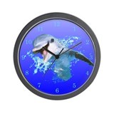 Dolphin Smiling Wall Clock