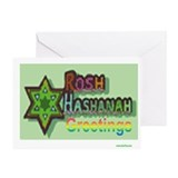 Rosh Hashanah Greetings Greeting Card