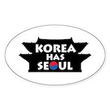 Korea Has Seoul Decal