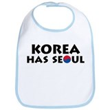 Korea Has Seoul Bib