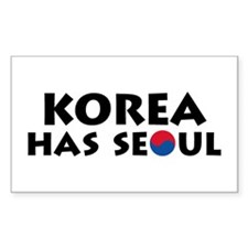 Korea Has Seoul Decal