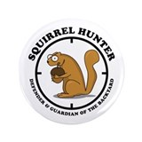"Squirrel Hunter 3.5"" Button (100 pack)"