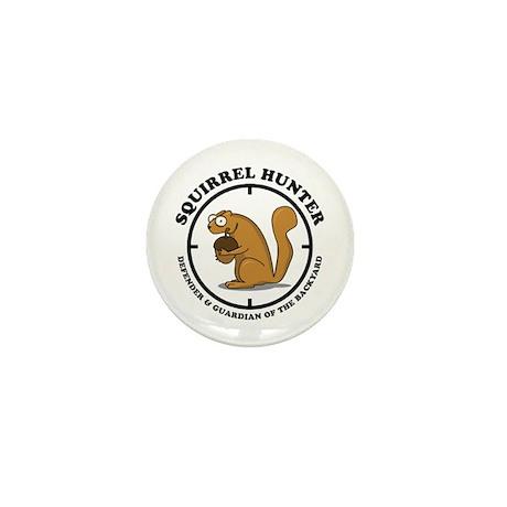 Squirrel Hunter Mini Button