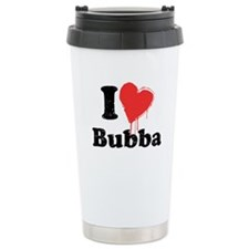 I heart bubba Ceramic Travel Mug