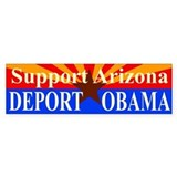 Arizona Deport Obama Bumper Sticker