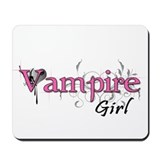 Vampire Girl Mousepad