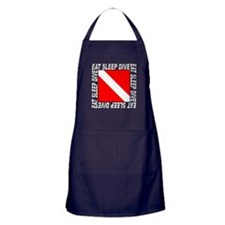Eat Sleep Dive Apron (dark)