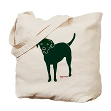 Tripawds Rear Leg Black Lab Tote Bag
