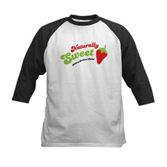 Naturally Sweet Kids Baseball Jersey