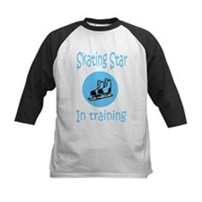 Blue Skating Star in Training Tee