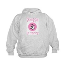 Pink Skating Star in Training Hoodie
